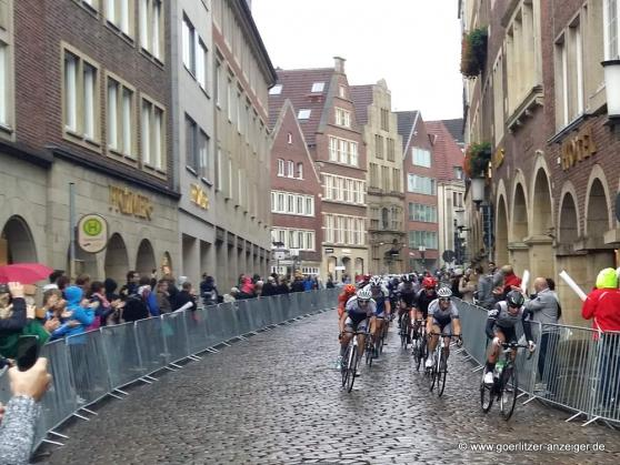 Radrennen in Münster